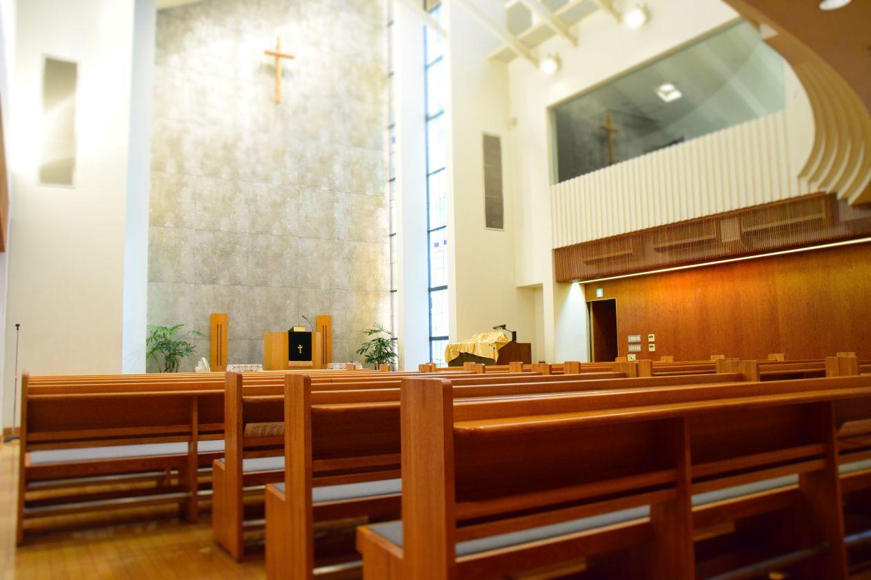 九段下 100人収容可能な教会・礼拝堂 音楽会やコンサートに最適です(日本キリスト教団 九段教会) の写真0