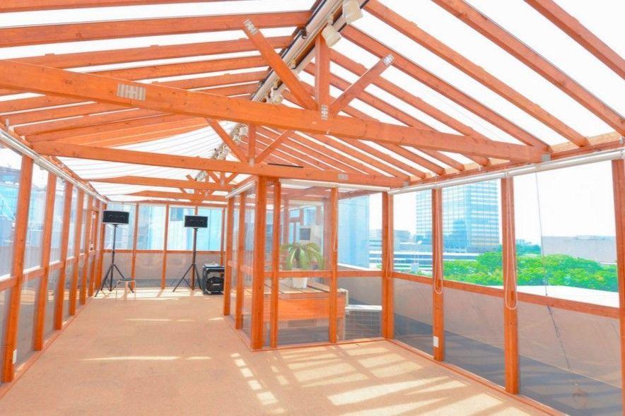 渋谷 屋内なのに青空の下 開放感抜群でパーティに最適(渋谷神南パーティーハウス) の写真0