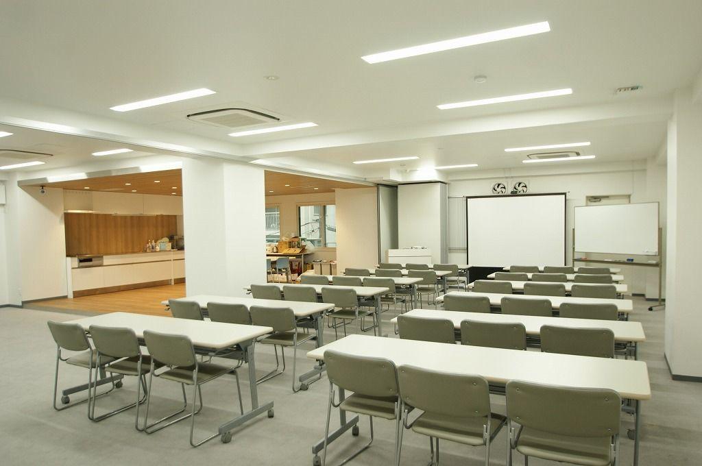 【大田区 蒲田駅】キッチン付会場♪ セミナーにもパーティにも利用可♪ 各種設備完備。 の写真