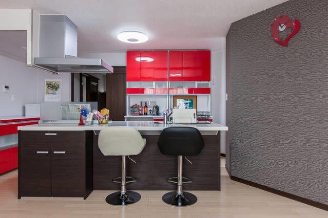 赤アイランドキッチンLDK(SHARE RESTAURANT tonda 2階) の写真0