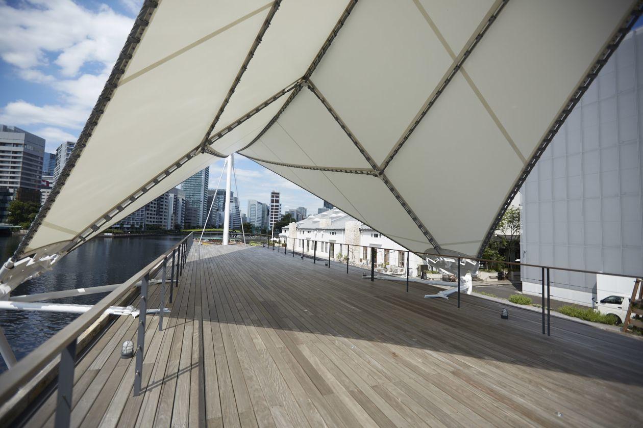 【天王洲・品川】運河に浮かぶイベントスペース(T-LOTUS M) の写真0