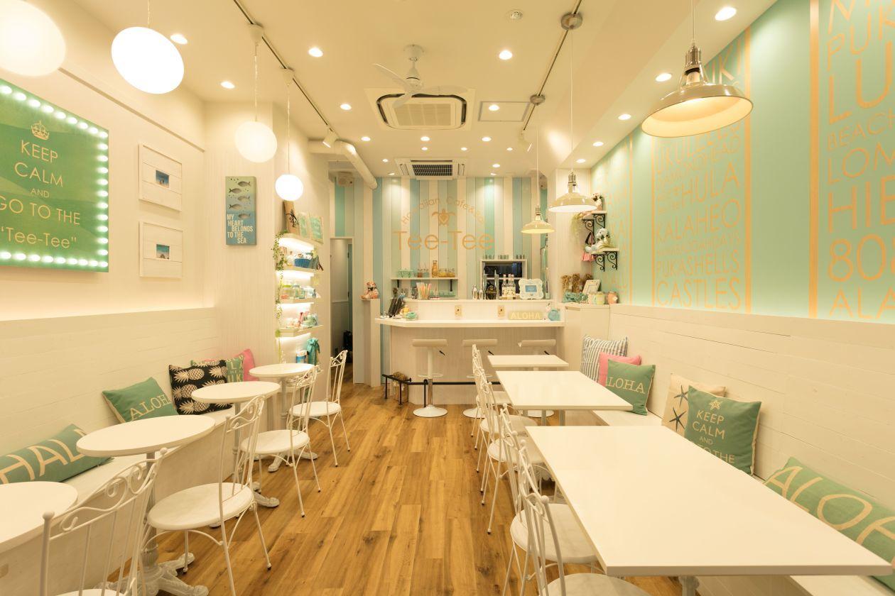 【渋谷駅・表参道駅より徒歩6分】ハワイの雰囲気を感じられるかわいいカフェを貸切 女子会、ママ会、誕生日パーティにおすすめ!(Hawaiian Cafe & Bar Tee-Tee) の写真0