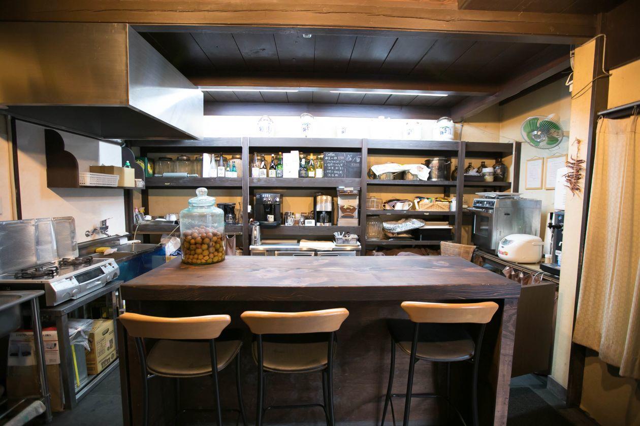 京都 趣ある酒屋をリノベーション 充実キッチン付きのカフェ貸切でパーティからイベントまで(【京都府南丹市】趣ある酒屋をリノベーションしたキッチン付きカフェを貸切で!) の写真0