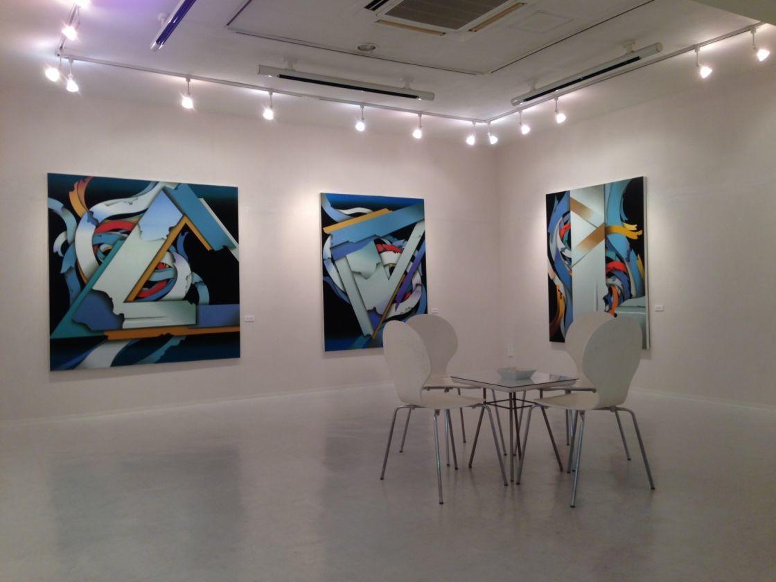 【銀座】銀座の画廊でパーティー、イベント、撮影はいかが?白を基調としたスタイリッシュな空間です。(GALLERY ART POINT 東京銀座) の写真0