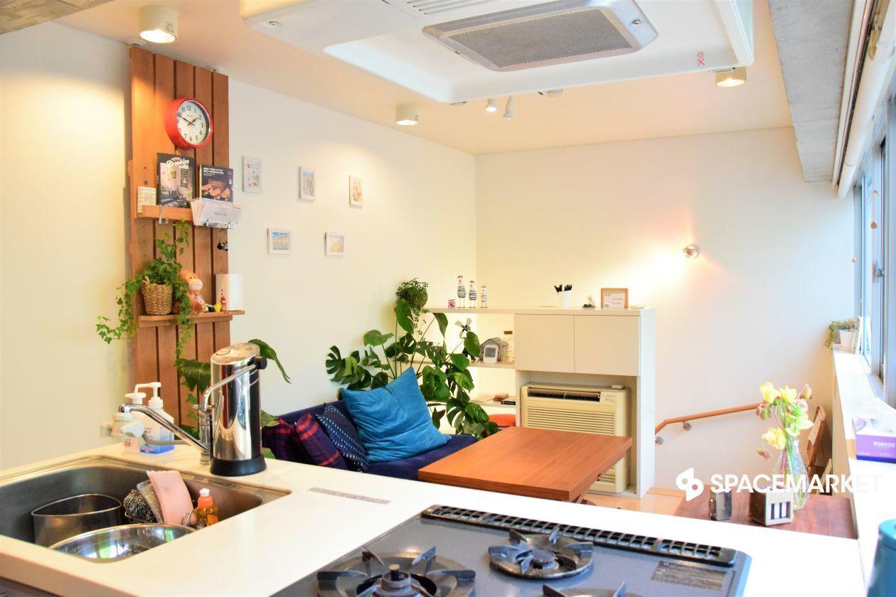 【秋葉原・浅草橋エリア】<<完全貸切!>>駅から徒歩2分のおしゃれなキッチンスペース の写真