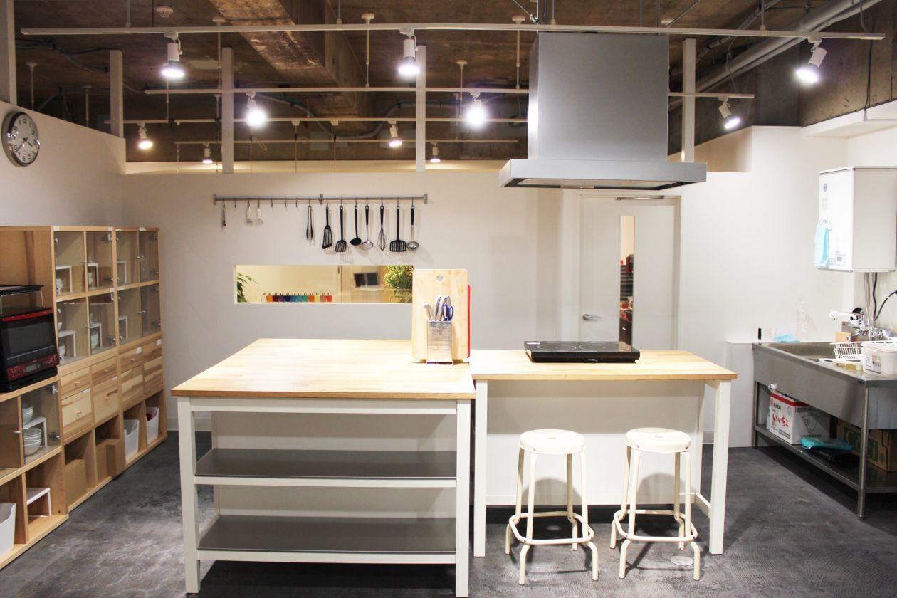キッチンスペース【秋葉原7分】格安・お料理教室・パーティに の写真