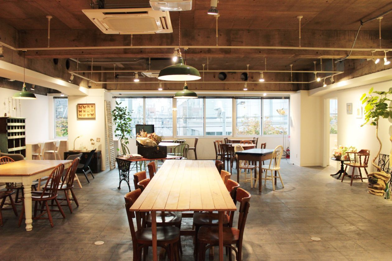 【秋葉原4分】キッチン付きパーティ・イベントスペース(レンタルスペース&カフェ パズル浅草橋) の写真0
