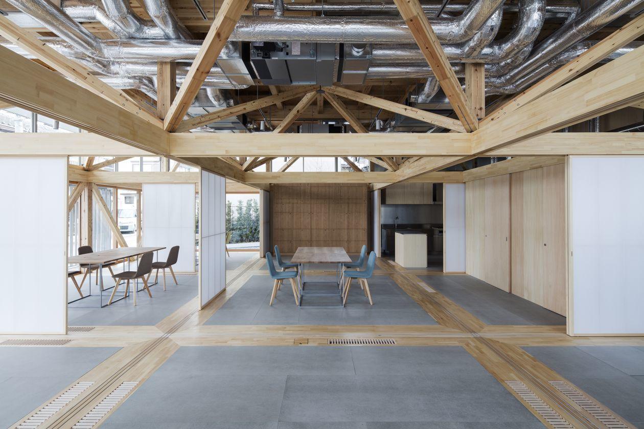 【Kitchen & Event】多目的に使えるキッチン付きウッドデザイン空間(キッチン+1コマ利用)(&VILLAGE) の写真0