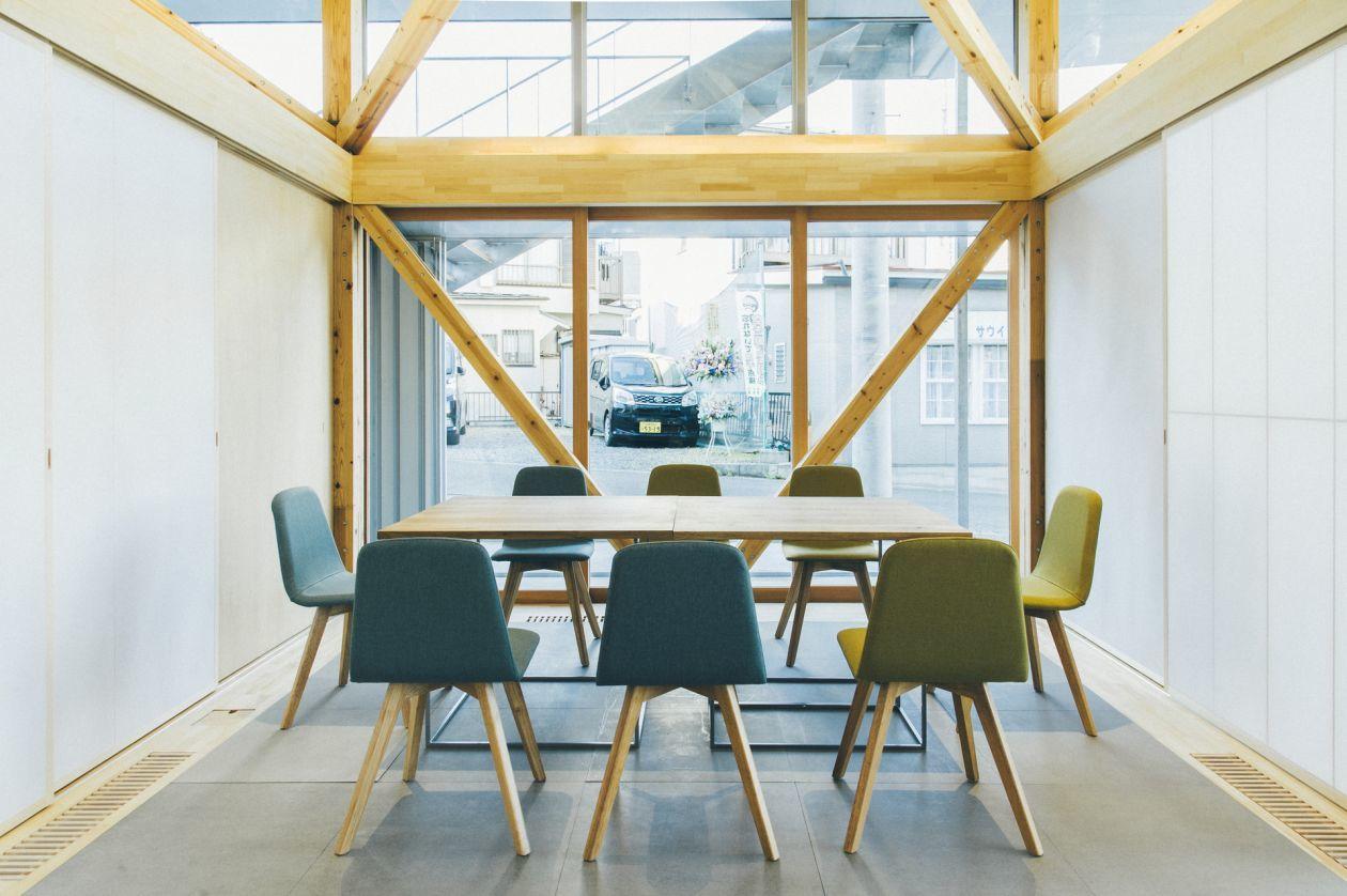 【Meeting & Workshop】木のぬくもりを感じるこだわりの多目的スペース(1コマ利用)(&VILLAGE) の写真0