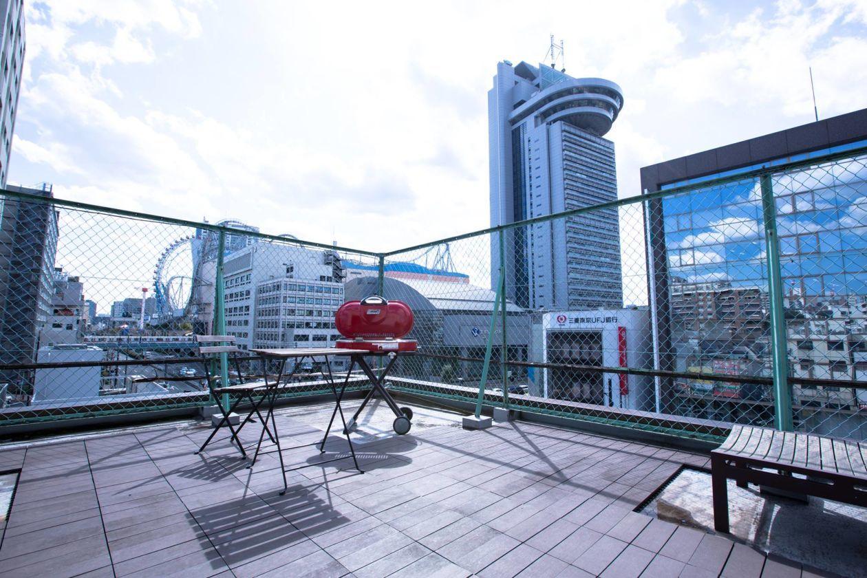【水道橋/後楽園】街が見渡せる屋上のパーティースペース 屋上BBQなどにおすすめ のカバー写真