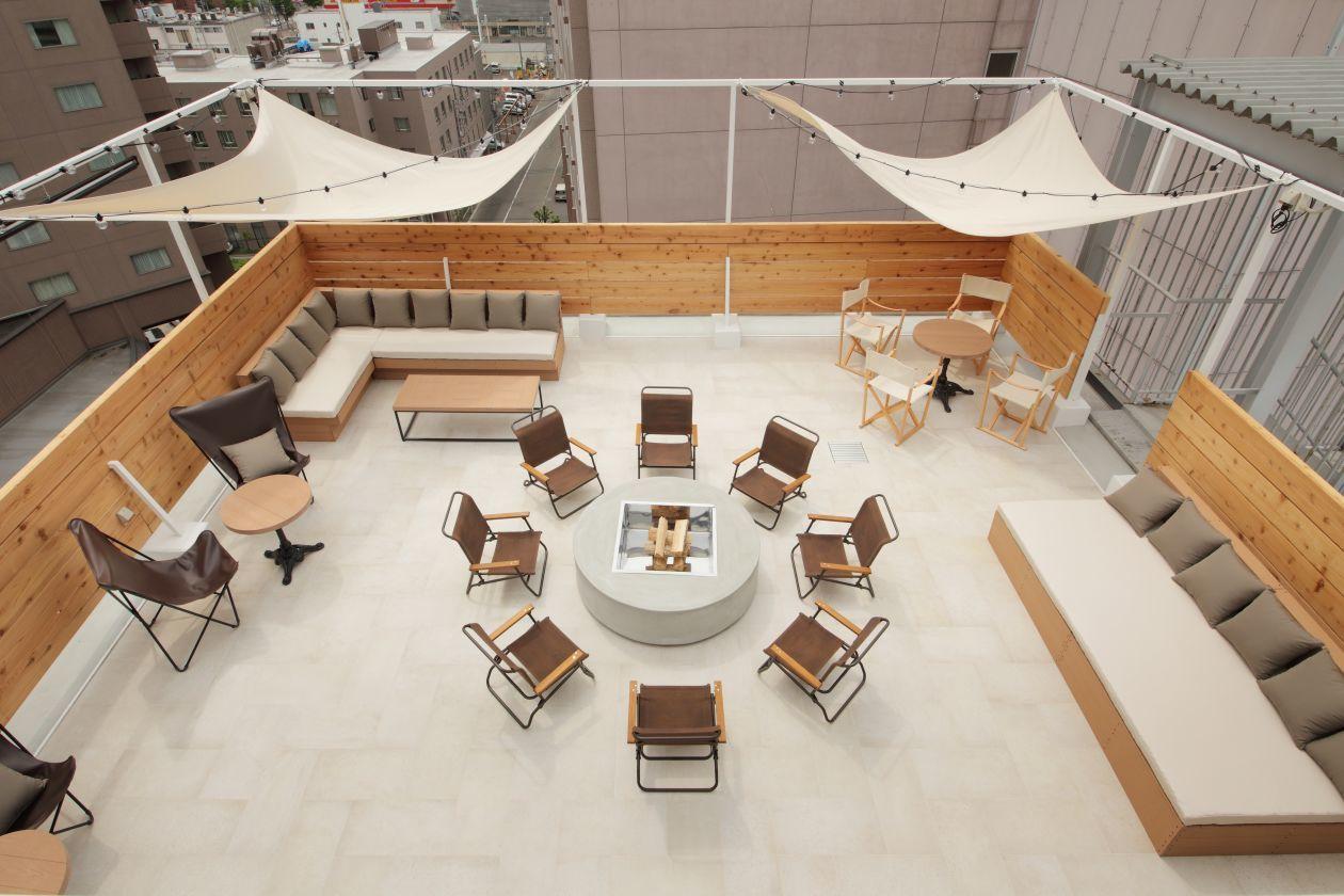 UNWIND HOTEL & BAR 10階 ルーフトップテラス(UNWIND HOTEL & BAR 10階バーラウンジ) の写真0