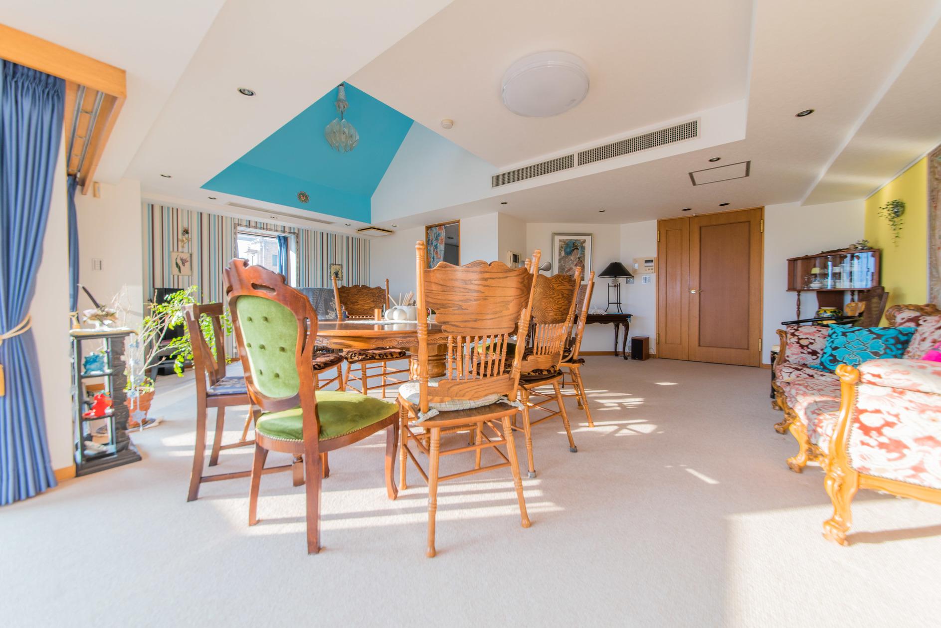 中野の億ション・グランドピアノのあるリビング・フロア占有のお部屋(グランドピアノのある中野の億ション) の写真0