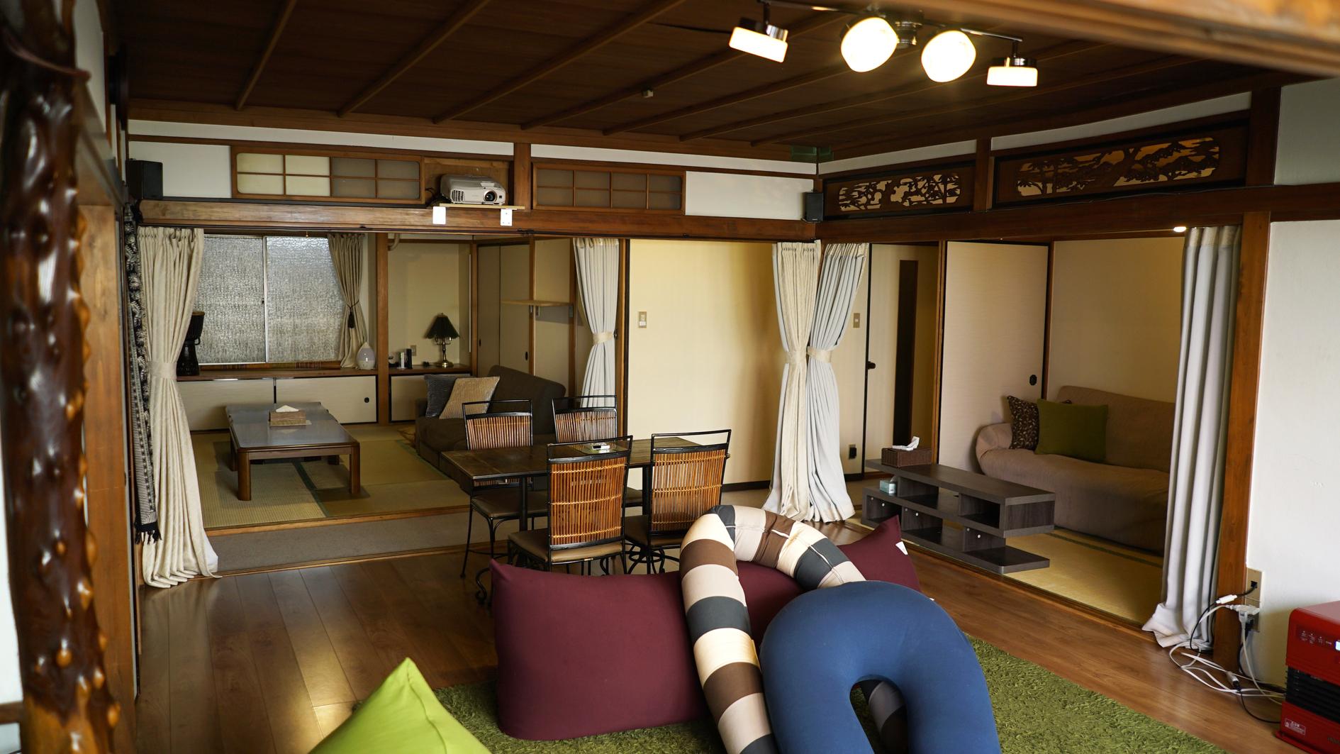 天王寺近く和風モダン 広々一軒家まるごと使ってハウスパーティ の写真