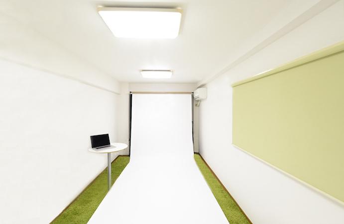 代官山の小さな可愛いスタジオです。 の写真