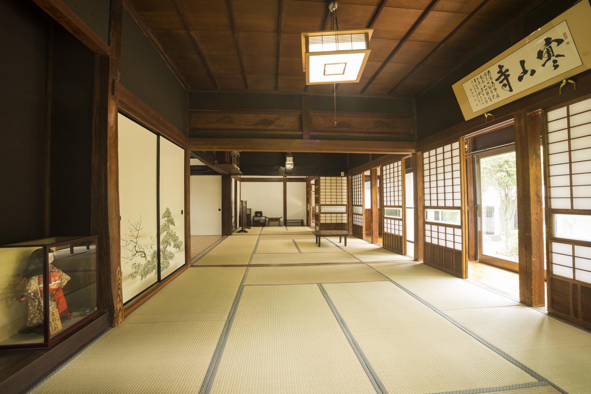古民家冨田邸、都内で珍しい由緒ある古い建物です。 のカバー写真