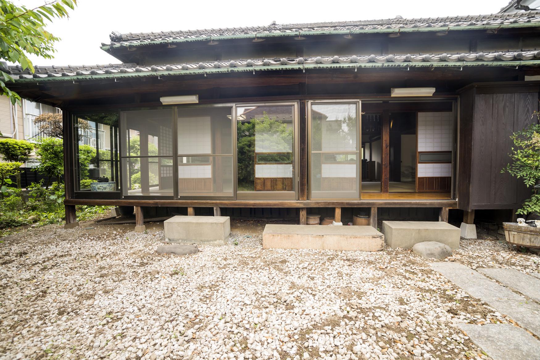 古民家冨田邸、都内で珍しい由緒ある古い建物です。 の写真