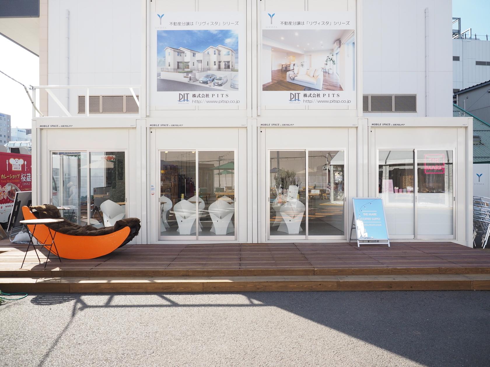 【4月~10月】【EKITUZI】仙台駅徒歩0分 Wi-fi/電源/ウッドデッキつき お洒落な屋内イベントスペース のカバー写真