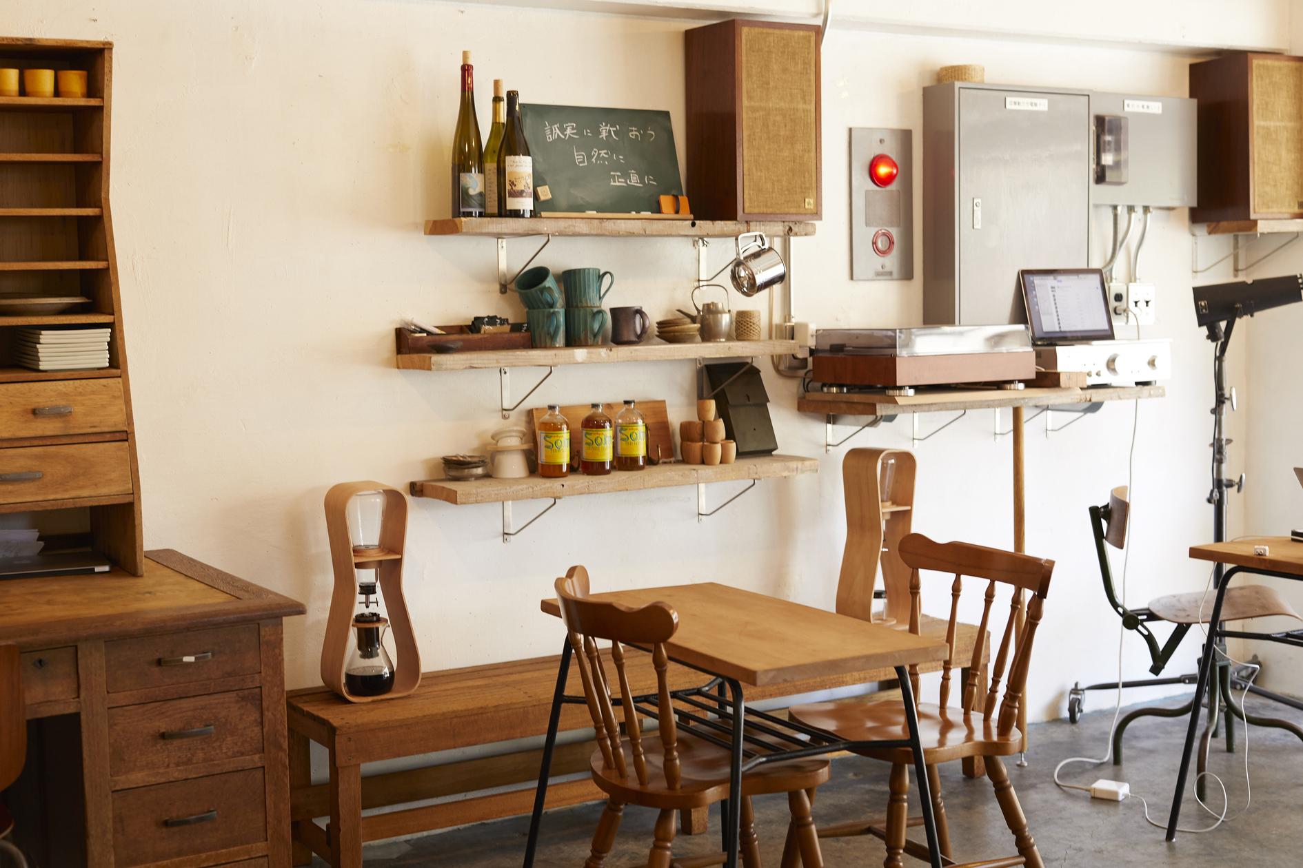 おしゃれなカフェスペース。夜の飲食店、会議や勉強会など。(おしゃれなカフェスペース。夜の飲食店、会議や勉強会など。) の写真0