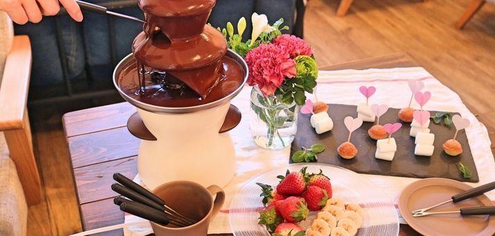 女子会にお菓子作り会!バレンタインキャンペーン